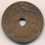 Французский Индокитай, 1 цент (1919 г.)