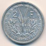 Французская Западная Африка, 2 франка (1955 г.)