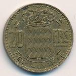 Монако, 20 франков (1950 г.)