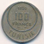 Тунис, 100 франков (1950 г.)
