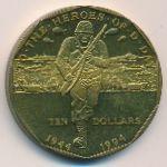 Маршалловы острова, 10 долларов (1994 г.)