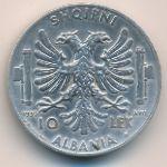 Албания, 10 лек (1939 г.)