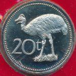 Папуа - Новая Гвинея, 20 тоа (1975–1990 г.)