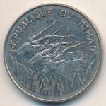 Чад, 100 франков (1980 г.)