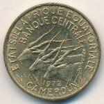 Экваториальные Африканские Штаты, 5 франков (1972 г.)