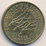 Экваториальные Африканские Штаты, 25 франков (1962 г.)