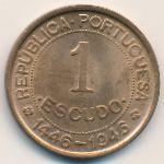 Гвинея-Бисау, 1 эскудо (1946 г.)