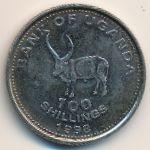Уганда, 100 шиллингов (1998 г.)