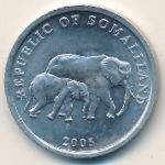 Сомалиленд, 5 шиллингов (2005 г.)