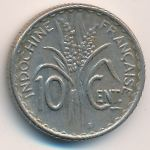 Французский Индокитай, 10 центов (1941 г.)