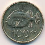 Исландия, 100 крон (2007 г.)
