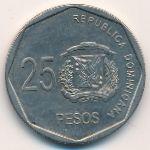 Доминиканская республика, 25 песо (2010–2015 г.)