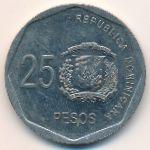 Доминиканская республика, 25 песо (2015 г.)