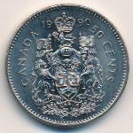 Канада, 50 центов (1990 г.)