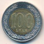 Албания, 100 лек (2000 г.)