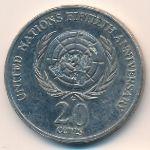 Австралия, 20 центов (1995 г.)