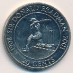 Австралия, 20 центов (2001 г.)