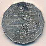 Австралия, 50 центов (1988 г.)