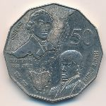 Австралия, 50 центов (1998 г.)