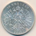 Австрия, 10 крейцеров (2001 г.)