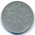 Ямайка, 10 центов (1986 г.)