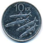 Исландия, 10 крон (2006 г.)