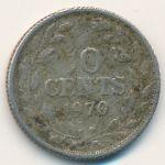 Либерия, 10 центов (1970–1984 г.)