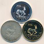 ЮАР, Набор монет (1936 г.)