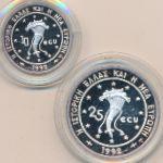 Греция, Набор монет (1992 г.)