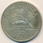 New Guinea, 1 crown, 1936