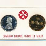 Мальтийский орден, Набор монет (1972 г.)