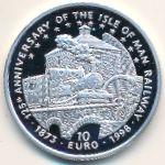 Остров Мэн, 10 евро (1998 г.)