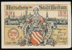 Беккум., 2 марки (1920 г.)