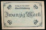 Кведлинбург., 20 марок (1918 г.)