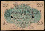 Цвиккау., 20 марок (1918 г.)