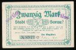 Жары., 20 марок (1919 г.)