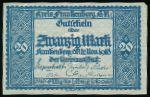 Франкенберг., 20 марок (1919 г.)