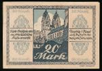 Магдебург., 20 марок (1918 г.)