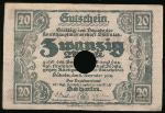 Дёбельн., 20 марок (1918 г.)