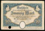 Хемниц., 20 марок (1918 г.)