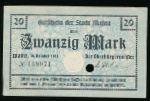 Майнц., 20 марок (1918 г.)