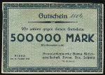 Борна., 500000 марок (1923 г.)