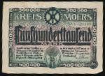 Мёрс., 500000 марок (1923 г.)