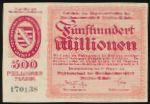 Дрезден., 500000000 марок (1923 г.)