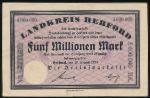Дрезден., 5000000 марок (1923 г.)