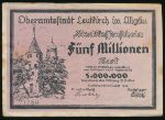 Билефельд., 5000000 марок (1923 г.)