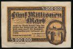 Шпайер., 5000000 марок (1923 г.)