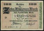 Грайц., 10000000 марок (1923 г.)