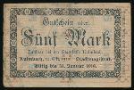 Кульмбах., 5 марок (1919 г.)