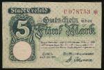 Крефельд., 5 марок (1918 г.)